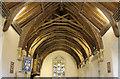 TM1581 : St Andrew, Thelveton - Roof by John Salmon
