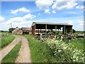 SP7504 : Old Barns at New Close Farm by Des Blenkinsopp