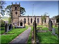SK1582 : The Parish Church of St Edmund, Castleton by David Dixon