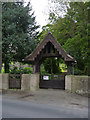 SK5422 : Lych gate, Stanford-on-Soar by Alan Murray-Rust