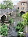 ST6163 : The meeting of three streams in the centre of Pensford by Dr Duncan Pepper