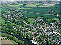 SU9876 : Datchet from the air by Thomas Nugent