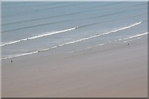 SS4088 : The sea in Rhossili Bay by Philip Halling