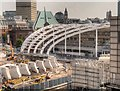 SJ8499 : Construction of New Roof at Victoria Station by David Dixon