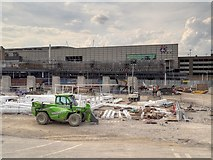 SJ8499 : Construction Work at Manchester Victoria Station (May 2014) by David Dixon