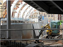 SJ8499 : Redevelopment Work At Victoria Station (May 2014) by David Dixon