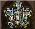 TF0471 : Stained glass window, St Clement's church, Fiskerton by J.Hannan-Briggs