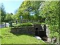 SO1103 : Culverted stream, Parc Cwm Darran by Robin Drayton