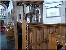 SP7006 : Inside St Mary Thame (XIX) by Basher Eyre