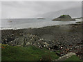 NG7300 : Sea shore near Glaschoille House, Knoydart by wrobison