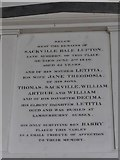 SP7006 : St Mary, Thame: memorial (34) by Basher Eyre