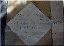 SP7006 : St Mary, Thame: memorial (39) by Basher Eyre