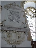 SP7006 : St Mary, Thame: memorial (41) by Basher Eyre