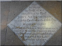 SP7006 : St Mary, Thame: memorial (47) by Basher Eyre