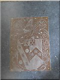 SP7006 : St Mary, Thame: coat of arms by Basher Eyre