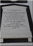 SP7006 : St Mary, Thame: memorial (54) by Basher Eyre