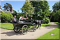 SJ3248 : Carriage Ride at Erddig Hall by Jeff Buck