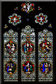 TQ7213 : East Window, St Laurence church, Catsfield by Julian P Guffogg