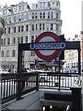 TQ2779 : Knightsbridge tube station by Thomas Nugent