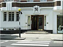 TQ2779 : 50 Sloane Street by Thomas Nugent