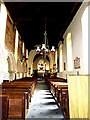 TM1877 : Inside of St.Peter & St.Paul Church, Hoxne by Geographer