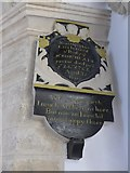 SP7006 : St Mary, Thame: memorial (59) by Basher Eyre