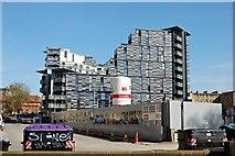 NT2572 : Edinburgh building site by John Myers