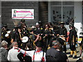 TA3107 : Morris Dancers at The Discovery Centre Cleethorpes by Steve  Fareham