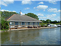 SP9215 : Dunstable & District Boat Club by Robin Webster