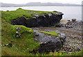 NG6015 : Beach west of Boreraig by Ian Taylor
