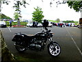 H5267 : Motorbike, Clogherny Glebe by Kenneth  Allen