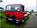 H5267 : MAN truck, Clogherny Glebe Lower by Kenneth  Allen