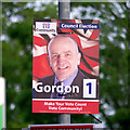 J5081 : 'Community Partnership (NI)' election poster, Bangor by Rossographer