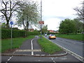 SK3338 : Cycle track beside Kedleston Road by JThomas