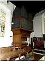 TM1577 : Organ of St.Nicholas the Great Church by Adrian Cable