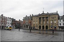 SK7953 : Market Square, Newark by Bill Boaden