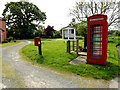 TM1378 : Telephone Box & The Common Postbox by Adrian Cable