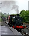 NS4408 : Steam at the Scottish Industrial Railway Centre by Mary and Angus Hogg