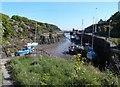 SH4493 : The narrow inlet of Amlwch Port by Eirian Evans
