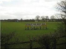 SP0563 : Location of Studley car boot sale – every Sunday by Robin Stott