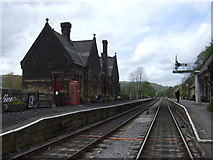 SK2762 : Darley Dale Railway Station by JThomas