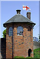 SO8693 : Toll House at Bratch Locks near Wombourne, Staffordshire by Roger  Kidd