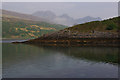 NG5719 : Promontory on Loch Slapin by Ian Taylor