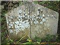 SD7864 : Lawkland - Giggleswick boundary stone by Karl and Ali