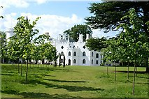 TQ1572 : Strawberry Hill House by Christopher Hall
