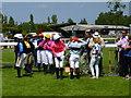 TF9228 : Point to Point jockeys at Fakenham by Sandra Humphrey