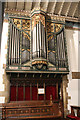 SK8091 : Organ, St Paul's church, Morton by J.Hannan-Briggs