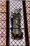 SK8594 : Stained glass window of Bishop Edward King, St Martin's church by J.Hannan-Briggs