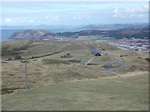 SH7683 : Llandudno: eastward view from Great Orme by Chris Downer
