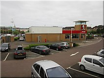 NT2774 : Kentucky Fried Chicken, Meadowbank Retail Park, Edinburgh by Graham Robson